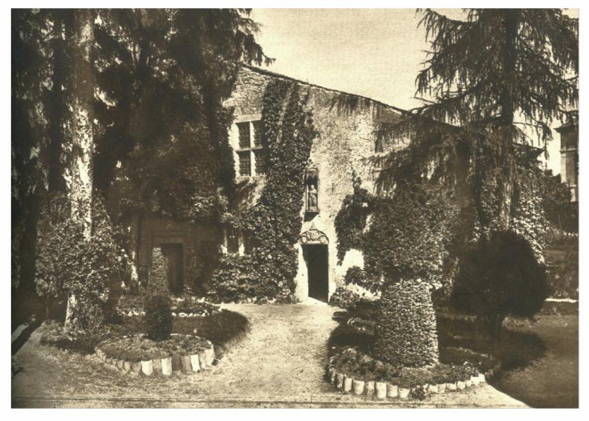 La demeure extérieure de Jeanne d'Arc à Domremy