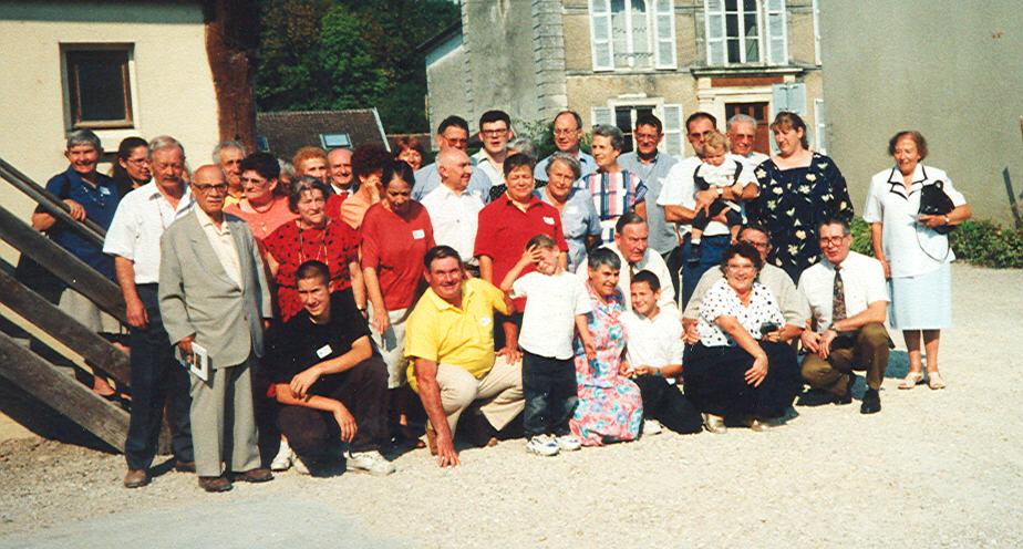 La famille Darsonval une nouvelle fois rassemblée à Arsonval