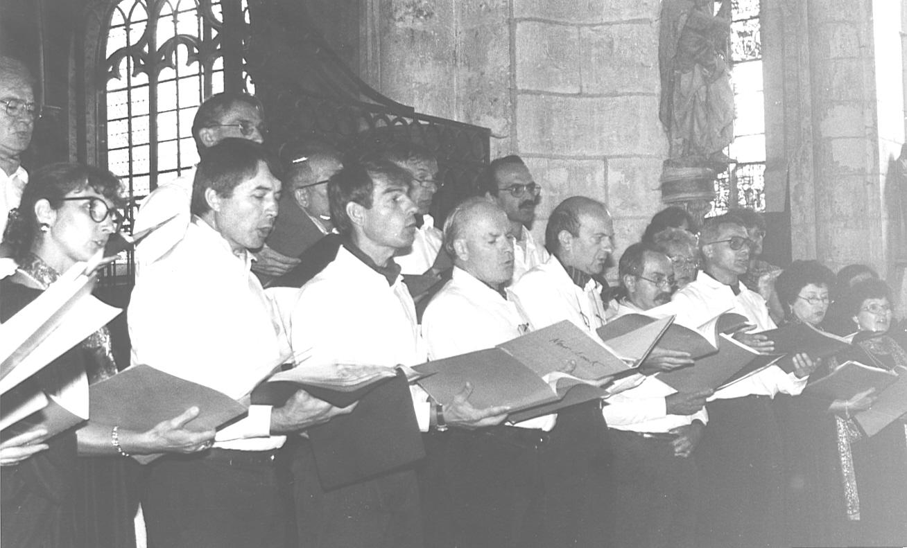 L'Ensemble Vocal Maurice Emmanuel en concert à Chaource