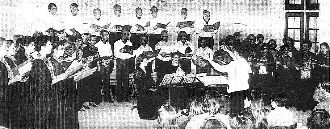 Le Choeur en concert à Rumilly-les-Vaudes