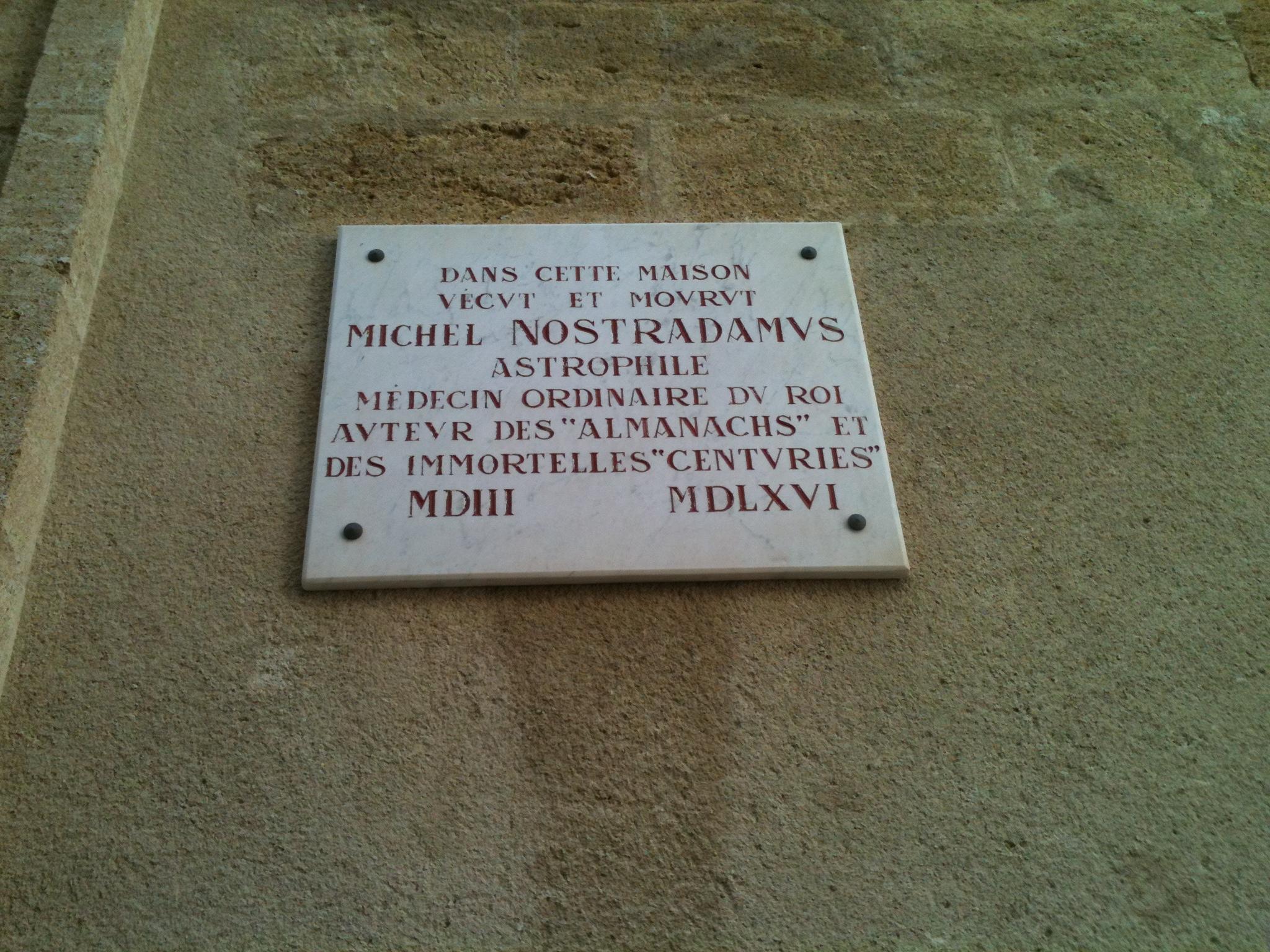 Maison de Nostradamus