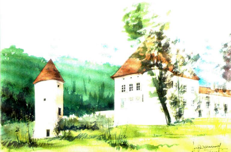 Le Château d'Arrentières (Aube)