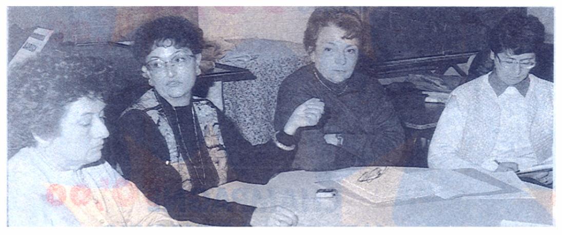 Mmes Jaulent, Ricordeau, Burger et Velut