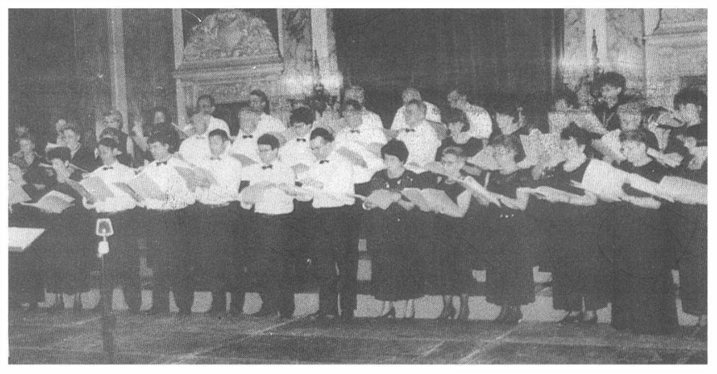 L'Ensemble Vocal Maurice Emmanuel à l'Hôtel de Ville de Troyes