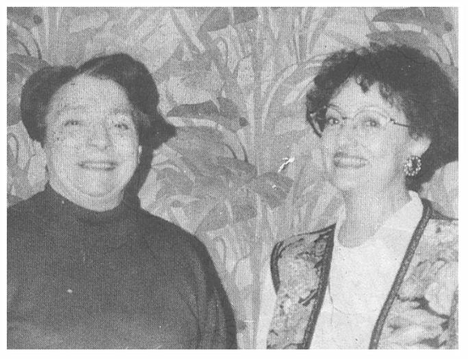 Nicole Burger et Françoise Ricordeau