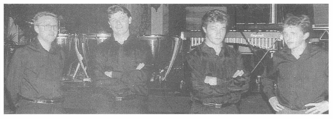 Thierry Bonneaux, Pilippe Limoges, Jean-Marc Mandelli, Pascal Devaux (Percussions)