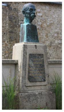 Buste du professeur Arsène d'Arsonval
