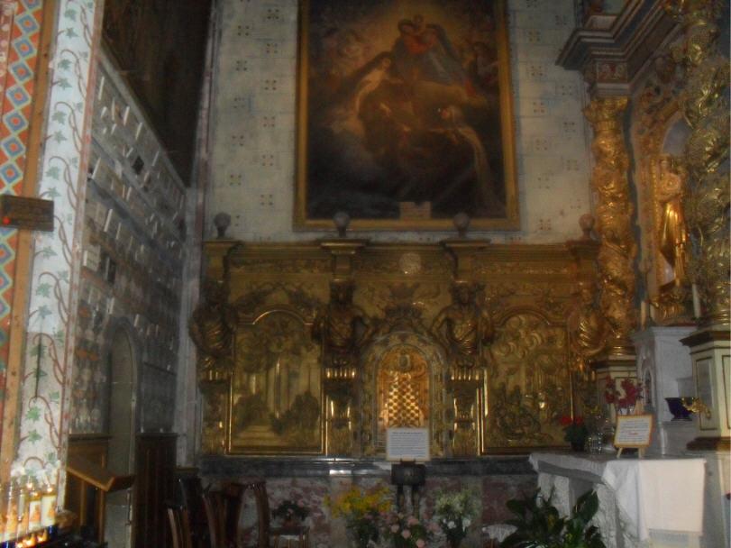 La chapelle de la Vierge Marie