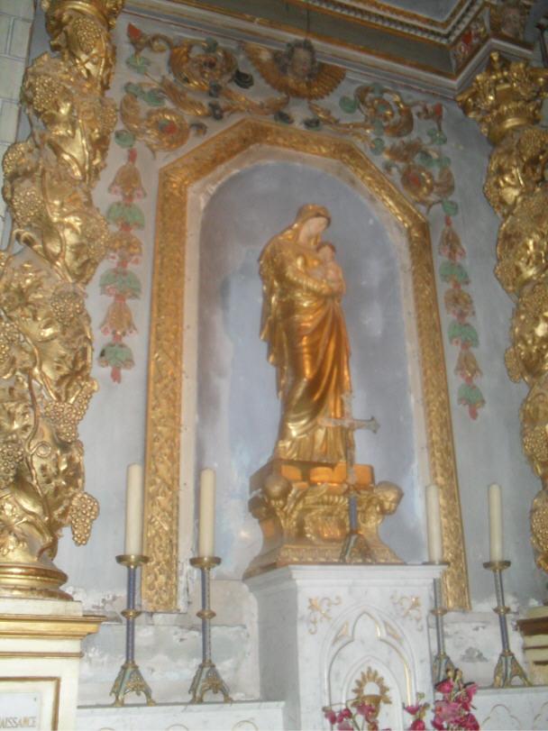 Autel de la Vierge à l'enfant