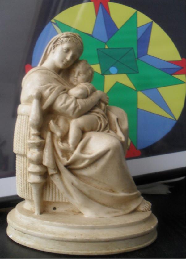 La Vierge et son divin enfant