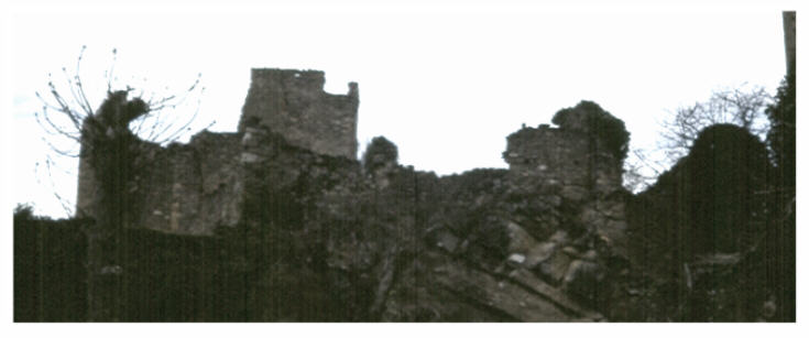 Ruines du château de Coustaussa