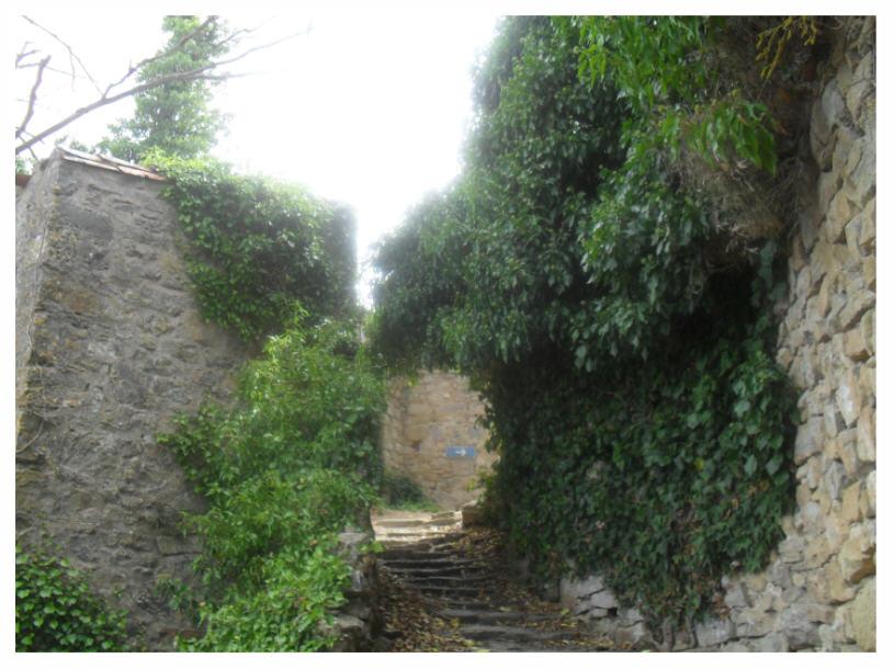 Porte Nord du village de Rennes-le-Château (La Salasse)