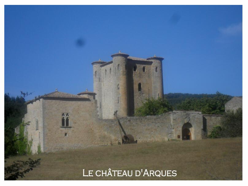Le Château d'Arques (Aude)