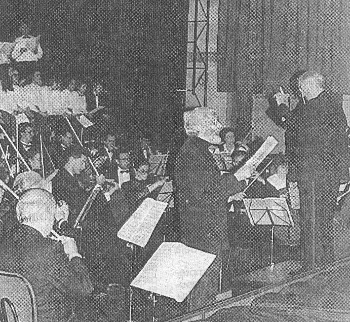 Le récitant Gérard Thévenin
