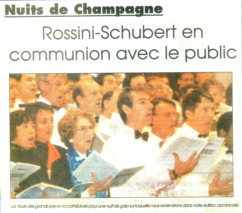 Le lendemain du concert à Troyes