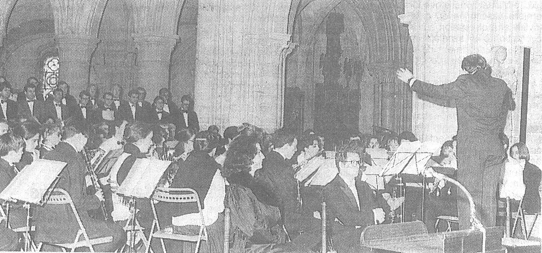 L'Orchestre Aubois des Jeunes et l'Ensemble vocal Maurice Emmanuel