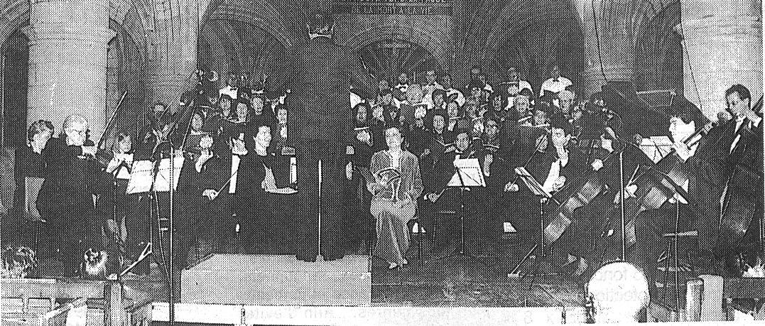 L'ensemble Choeur et Orchestre